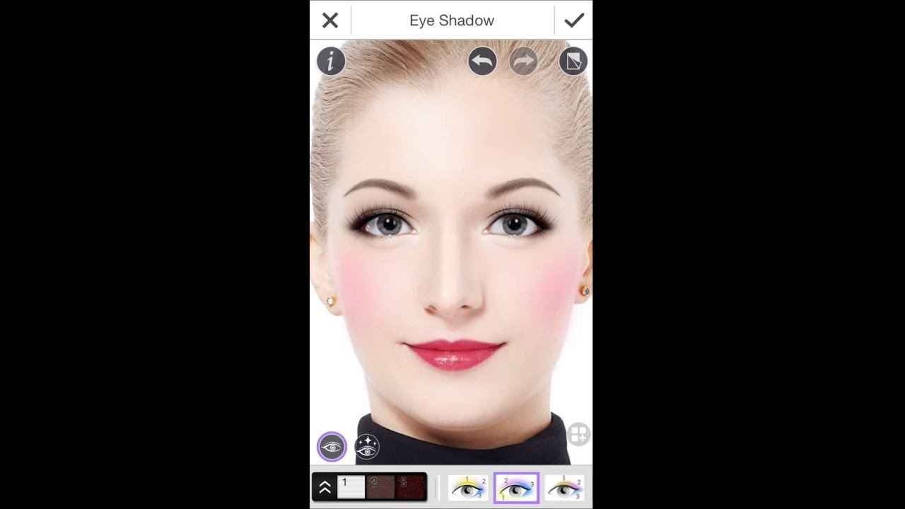 hair styling app youcam makeup the smart cosmetic kit with circle 3403