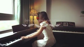 Beautiful In White - performing on 2 pianos   Piano Cover   Bội Ngọc Piano