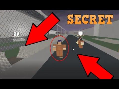 Secret escape door in prison life roblox games video for Secret escape games