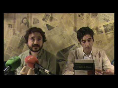 Presentación de LAS GAFAS DE PESSOA, del joven poeta Aitor Francos