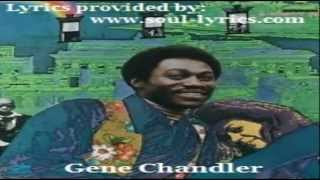 Gene Chandler - Groovy Situation (with lyrics)