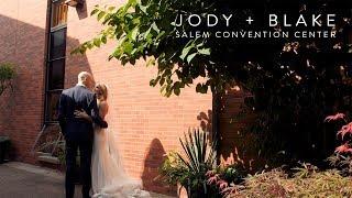 Salem Convention Center Wedding Trailer | Jody + Blake