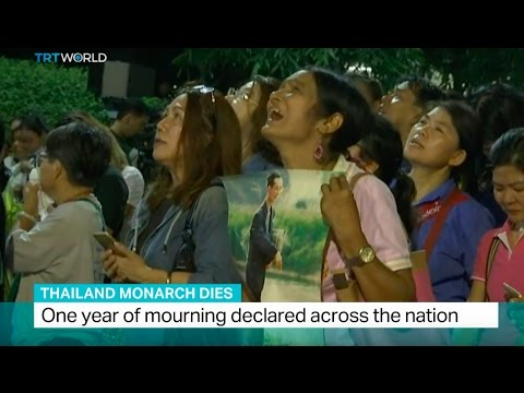 Thailand Monarch Dies: One year of mourning declared across the nation