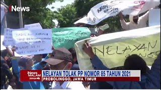 Demo Nelayan Tolak PP 85 2021 di Probolinggo #iNewsMalam 28/09