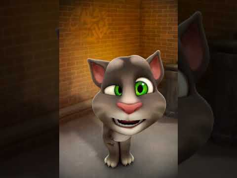 Talking Tom and I made an awesome video together! You can make your own super cool videos with his a