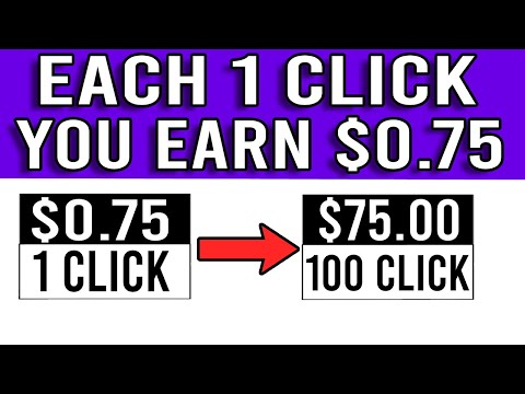 Get Paid To Click On Websites! $0.75 Per Click FREE | Worldwide (Make Money Online)