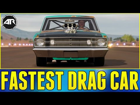 Forza  Best Cars For Drag Racing