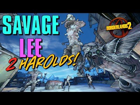SWAPPING SAVAGE LEE - 2 Unkempt Harold Drops [Borderlands 2 Enemy Swapper]