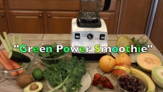 Vitamix 6300 Green Power Smoothie Recipe