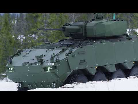 Piranha 5 and Elbit UT-30 MK2 turret for Romania - test firings in Norway