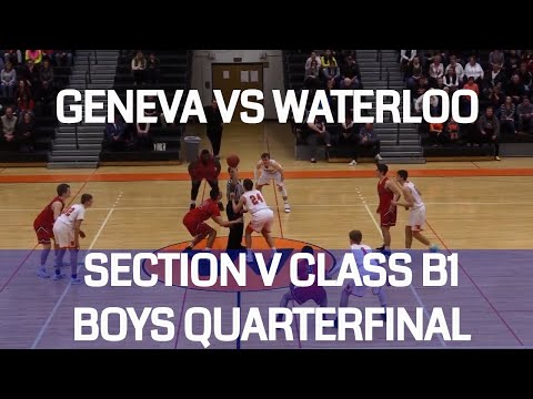 Geneva vs. Waterloo .::. Section V Class B1 Quarterfinals on FL1 Sports (Video Replay)