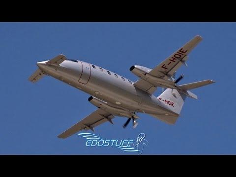 Rare! Piaggio P-180 Avanti II F-HOIE - Takeoff from Split Airport LDSP/SPU