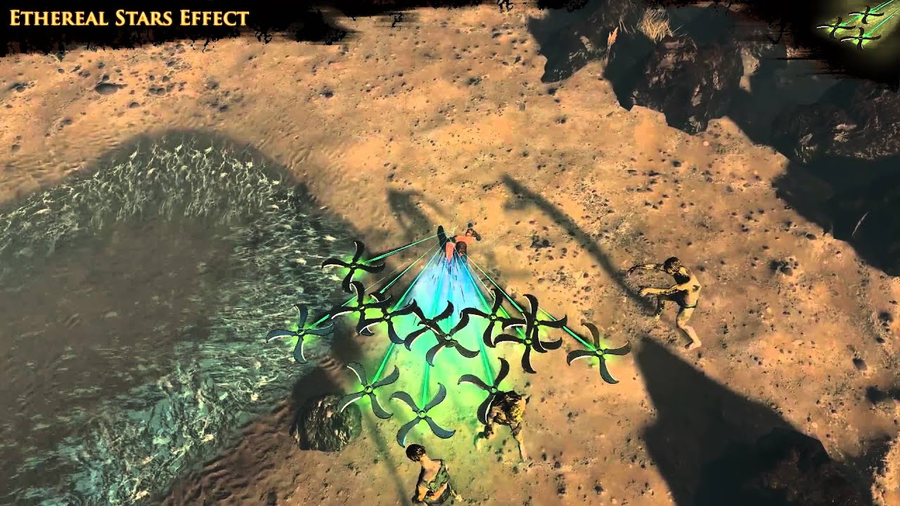 Path Of Exile  Ethereal Stars Effect