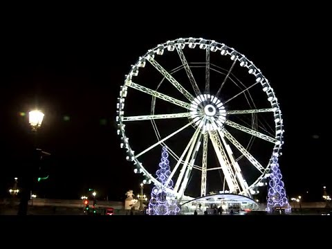 Paris - Timelapse Grande roue (full HD)