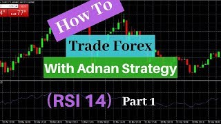 How To Trade Forex With Adnan Strategy RSI14   Part 1