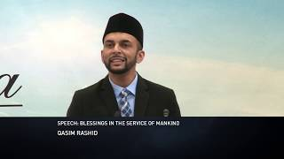 Blessings In The Service Of Mankind By Qasim Rashid