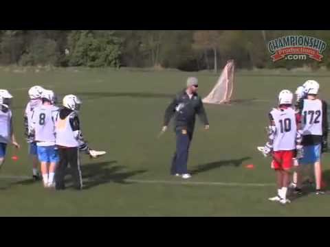 Fundamental Skills And Drills For Youth Lacrosse Youtube