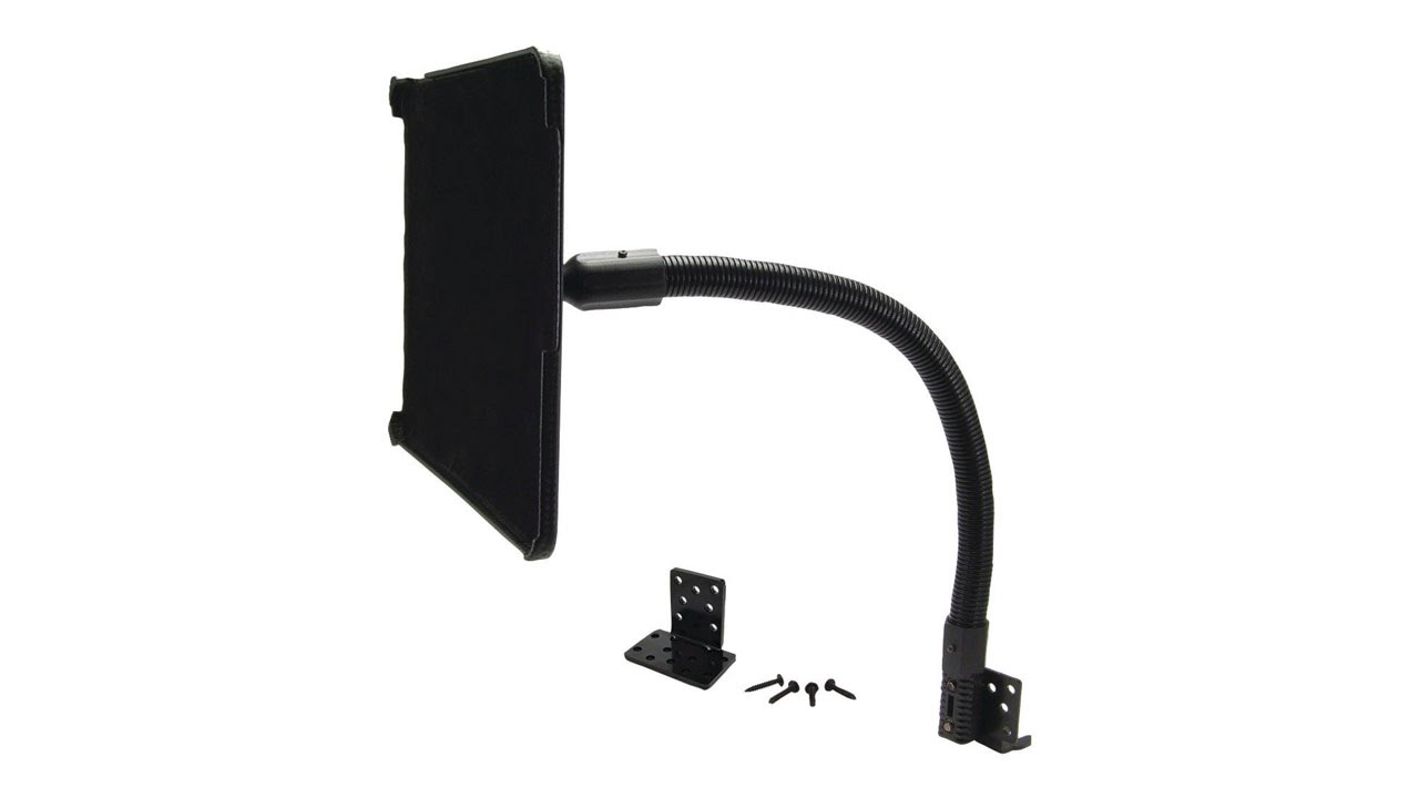 Flexible Gooseneck Car Mount For Ipad Arkon Ipm Fsm