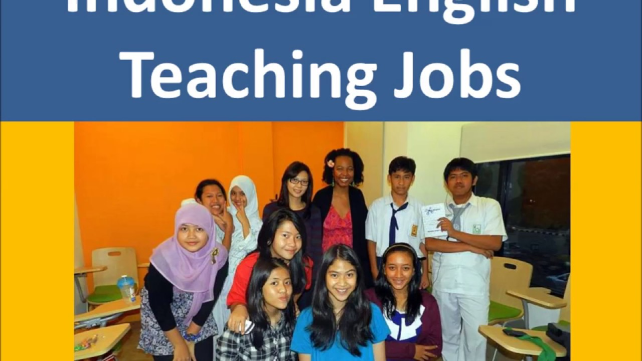 Image result for Teaching job in Indonesia