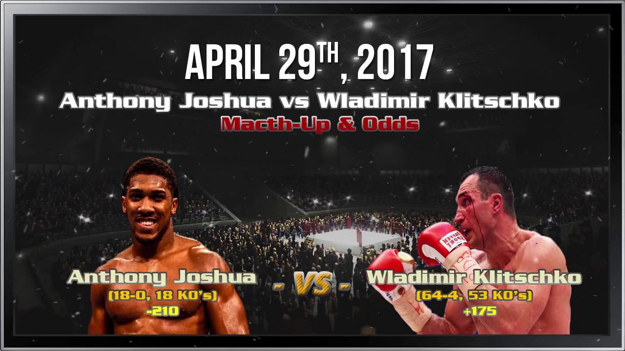 Odds Joshua Klitschko