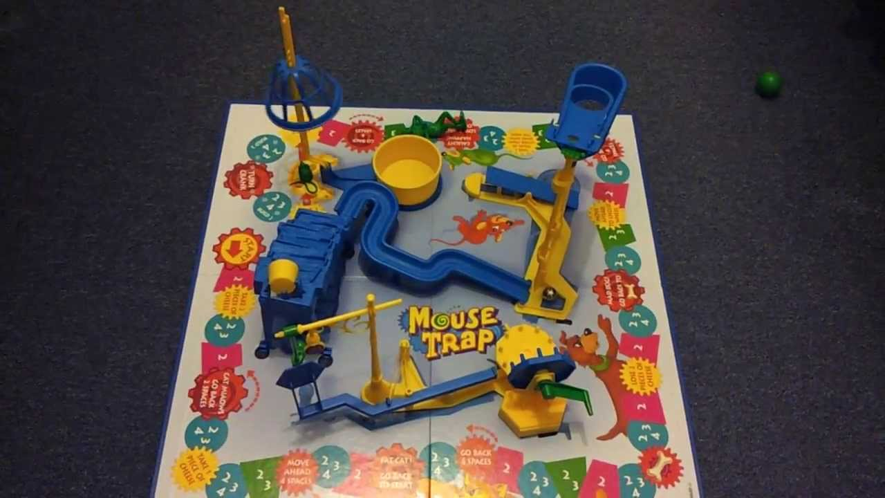 Cat Mouse Trap Game