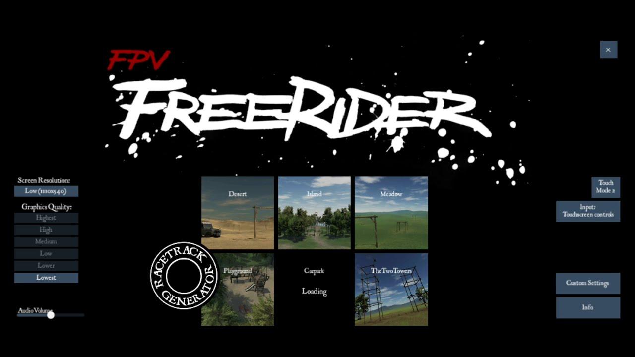 [Freerider] FPV Acro practice day 1 картинки