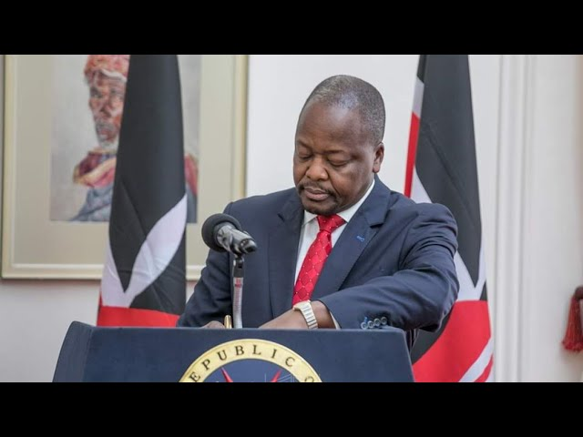 Health CS Mutahi Kagwe Latest Update to Kenyans | Curfew in Kenya