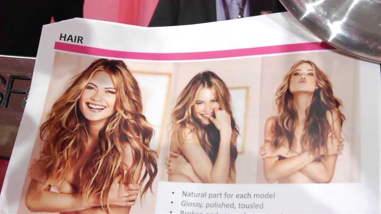 2013 Victoria's Secret Fashion Show: Creating the Hair ...