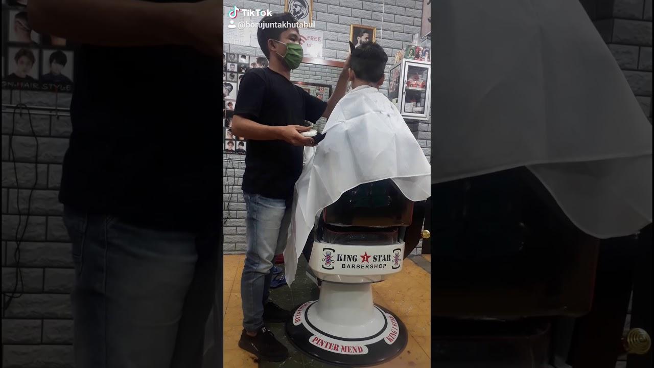#barbershop #gaya rambut anak laki laki #trend #viral ...
