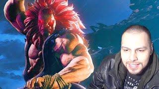 "Street Fighter 5: ""Akuma"" Gameplay REACTION! - Street Fighter V ""Akuma"" Gameplay Reveal"