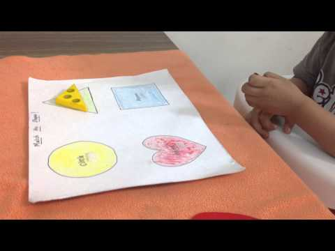Simple way to teach a toddler about shapes - part-1