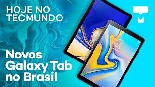 """Novos Galaxy Tab no Brasil, """"PS5"""" básico já vai ter SSD e mais - Hoje no TecMundo"""