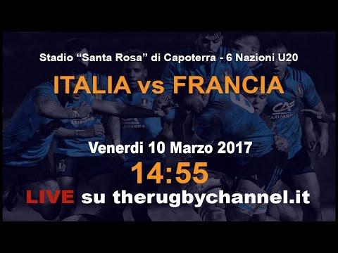 Italia vs Francia RBS 6 Nations 2017 U20 10.03.17