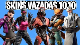 NEW STARTER PACK, LEGENDARY SKIN, FOX, WRAPS, PICKS and MORE LEAKS UPDATE 10.10-Fortnite