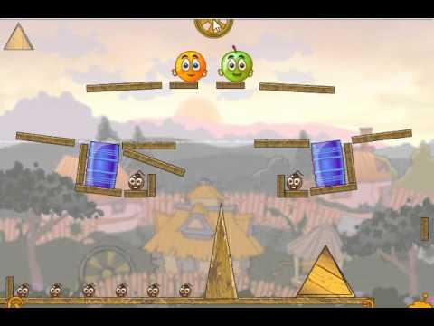 Ответы на игру Спаси апельсинчик в одноклассниках 39 уровень