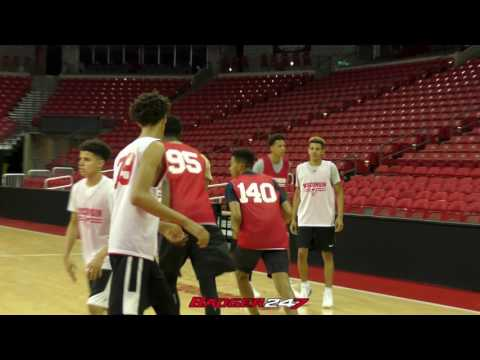 Tyler Herro and Jalen Johnson Team Up at Wisconsin Camp