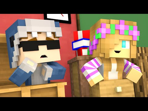 Minecraft School- LOVE AT FIRST SIGHT AGAIN?! (Minecraft Roleplay)