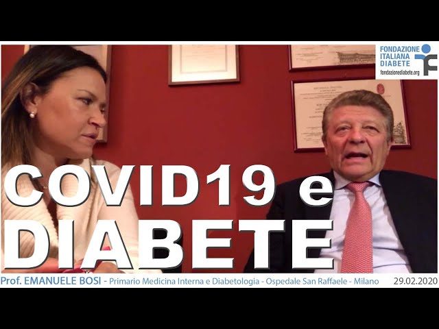 Coronavirus e Diabete | 29.02.2020