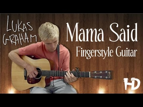 [FREE TABS] Mama Said - Lukas Graham Fingerstyle Guitar Cover