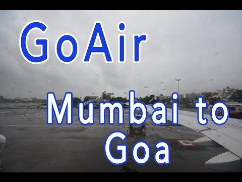 (Overcast) GoAir A320 | Mumbai to Goa (HD)