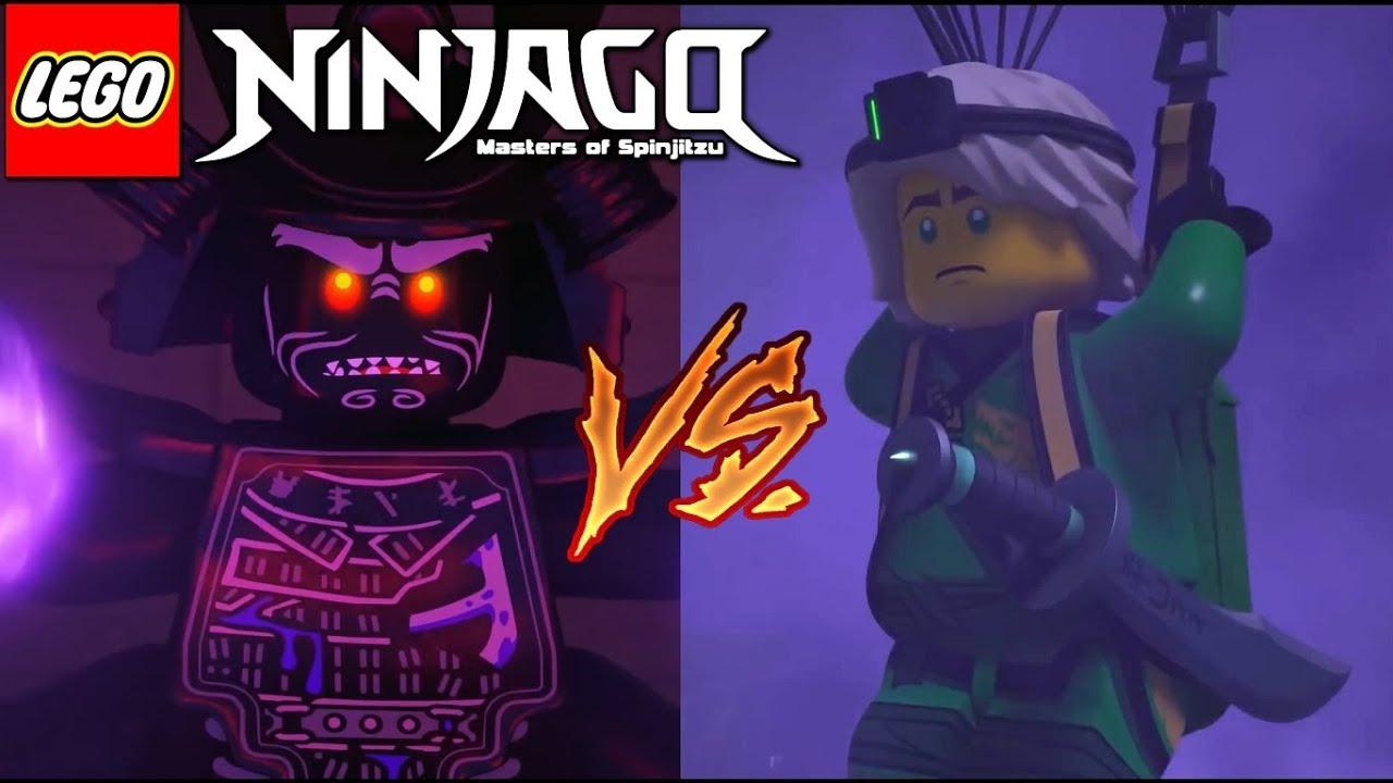 Ninjago Season 10 Lloyd Vs Garmadon Rematch March Of The Oni