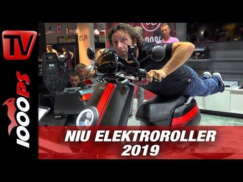NIU Elektroroller 2019 - E-Scooter Neuheiten auf der INTERMOT 2018