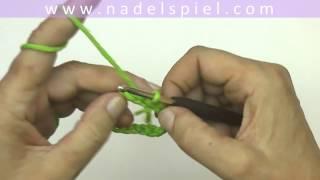strickteile verbinden häkeln