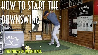 How to Start the Downswing