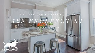 60 Second Property Tour - 129 Prospect St - Jersey City