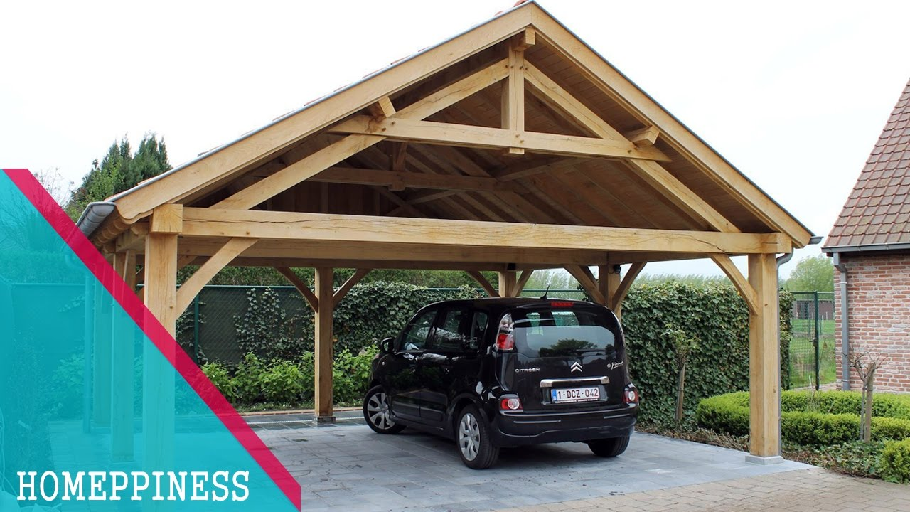 Must watch 30 rustic carport ideas that you may have for Rustic carport