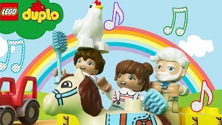 LEGO DUPLO - Old MacDonald Had a Farm | Learning For Toddlers | Nursery Rhymes and Cartoons