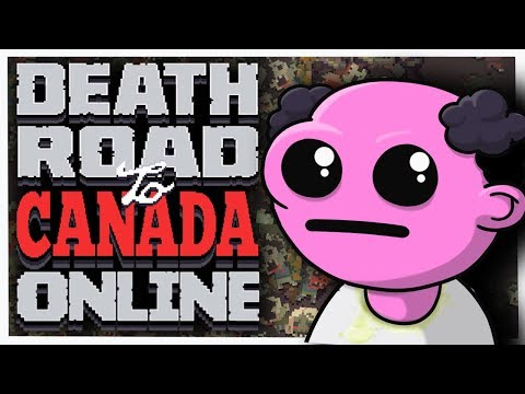 Death Road to Canada - #1 - DSYP IS FULL OF IT! (Online Co-op with Parsec!)