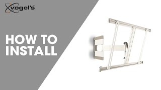 How To install THIN 345 | turn wall mount | Vogel's