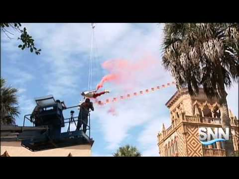 SNN: Chinese Artist Makes Stunt Debut in U.S. at Ringling Museum